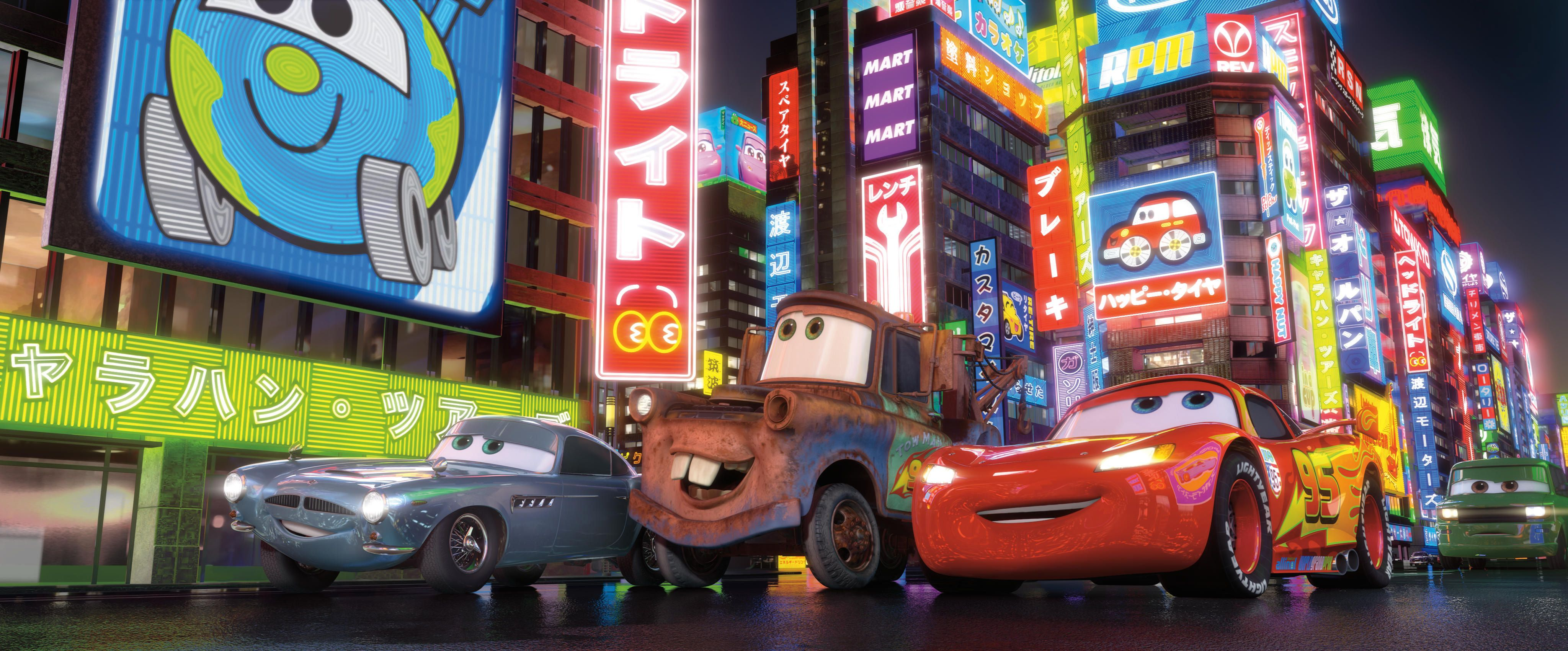 Cars 2 Images Collider