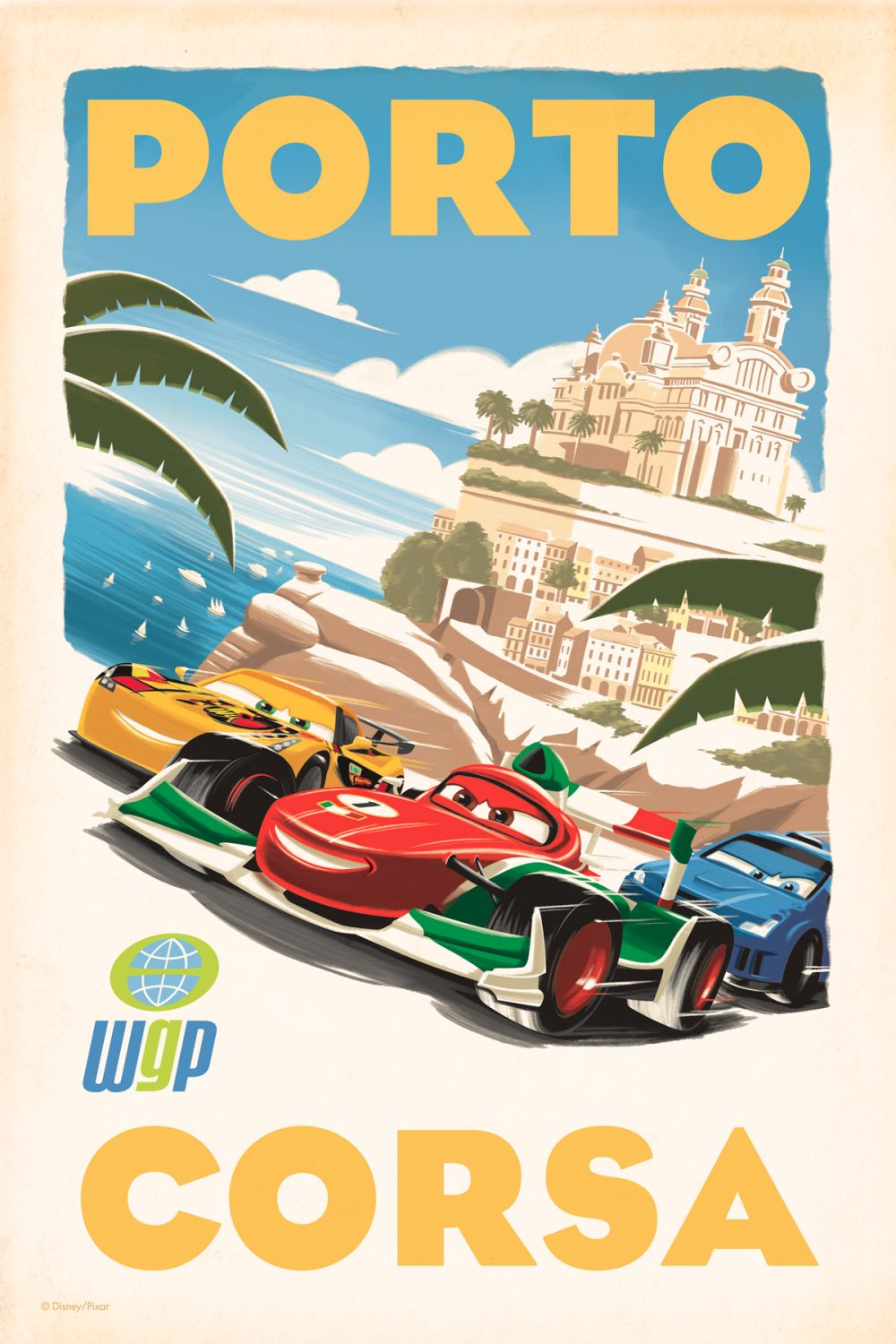 Cars 2 Posters Collider