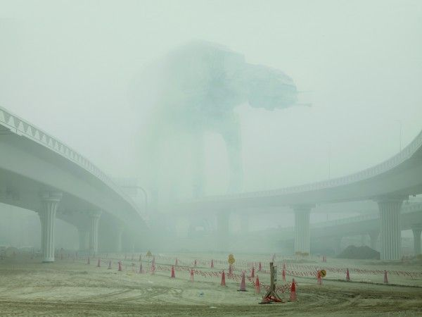 Cedric Delsaux Photo Series Features STAR WARS Characters in Present Day Dubai 1