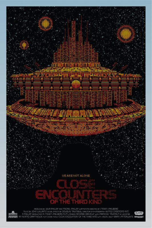 CLOSE ENCOUNTERS OF THE THIRD KIND Mondo Poster | Collider