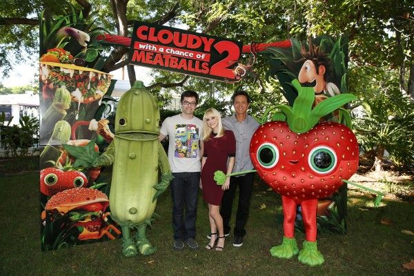 cloudy-with-a-chance-of-meatballs-2 - bill hader, anna faris and benjamin bratt