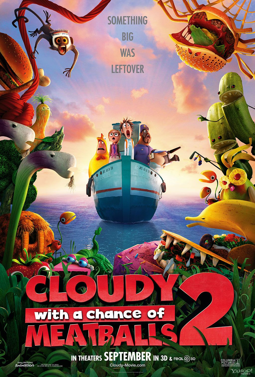 cloudy with a chance of meatballs 2 review collider