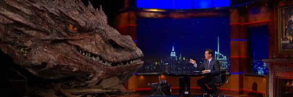 Watch Stephen Colbert Interview Smaug On The Colbert