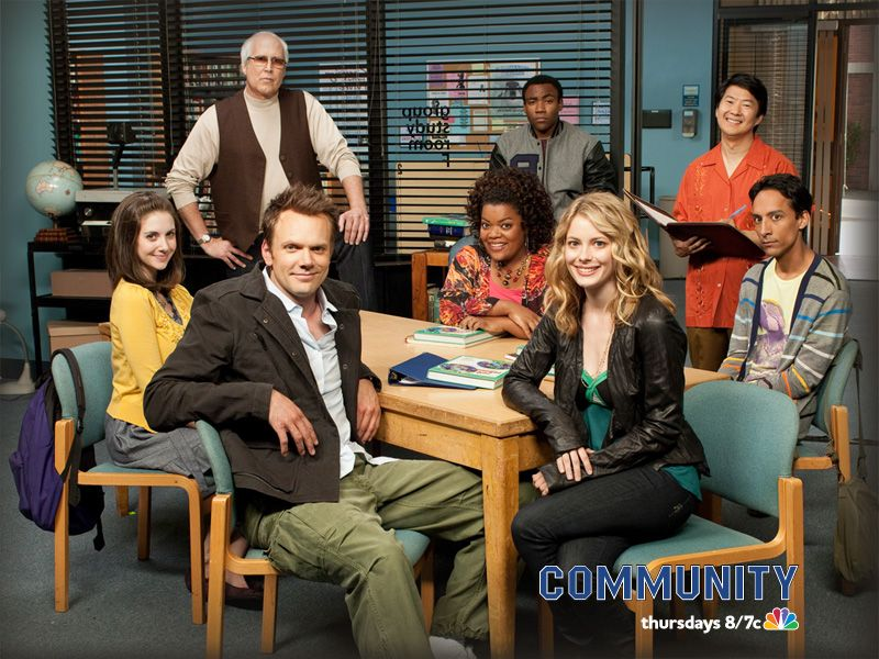 Nbc 39 s community to feature the cast as puppets collider for Community tv show pool episode