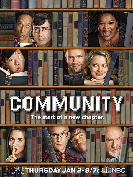 Image result for community show poster
