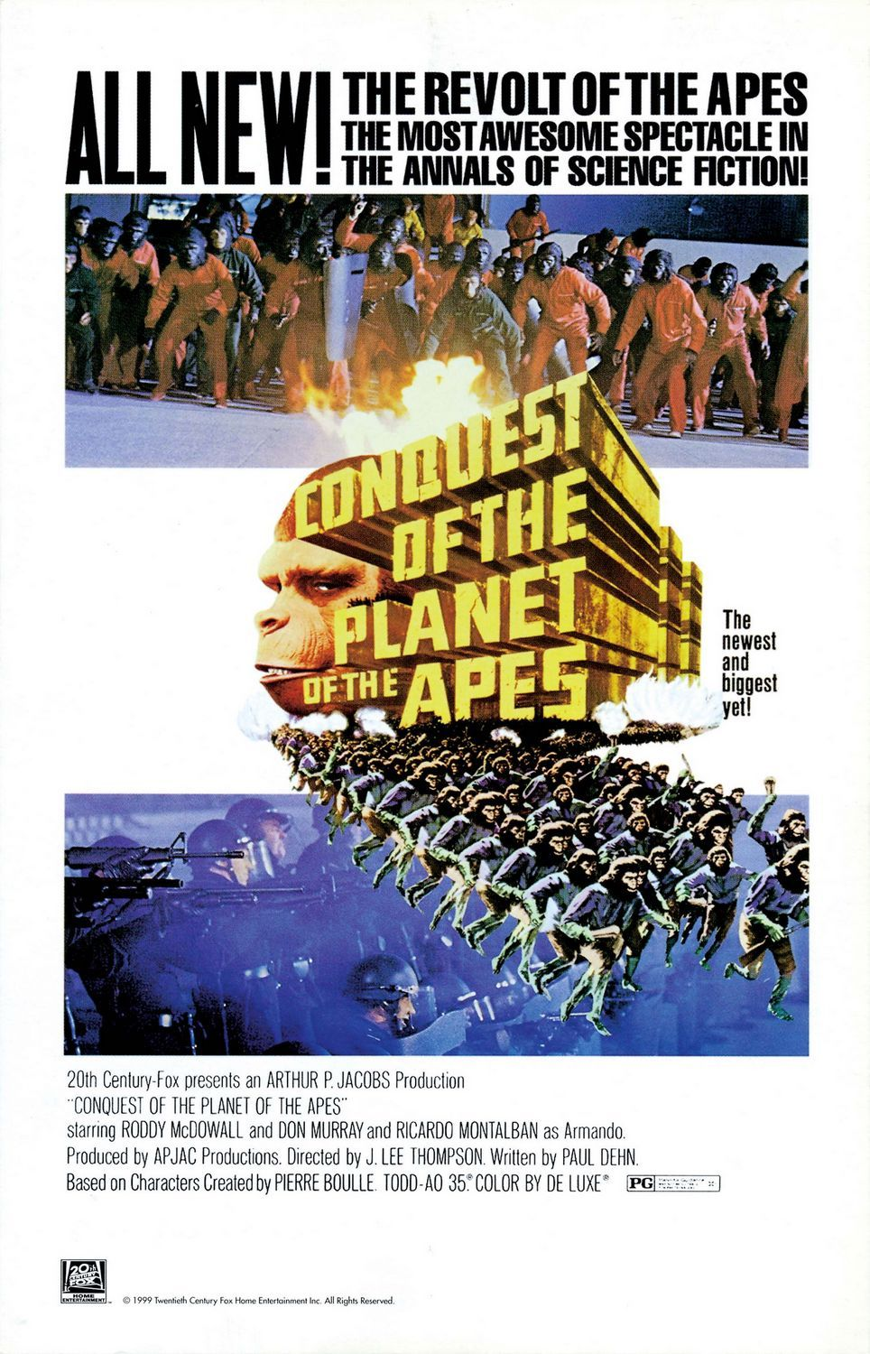 Conquest Of The Planet Of The Apes Review Collider
