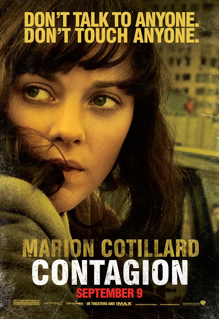 Contagion Posters Collider