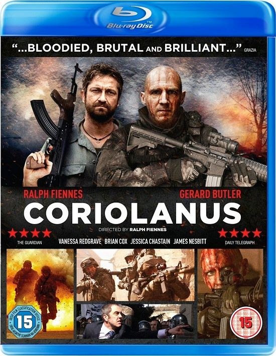 coriolanus blu ray cover