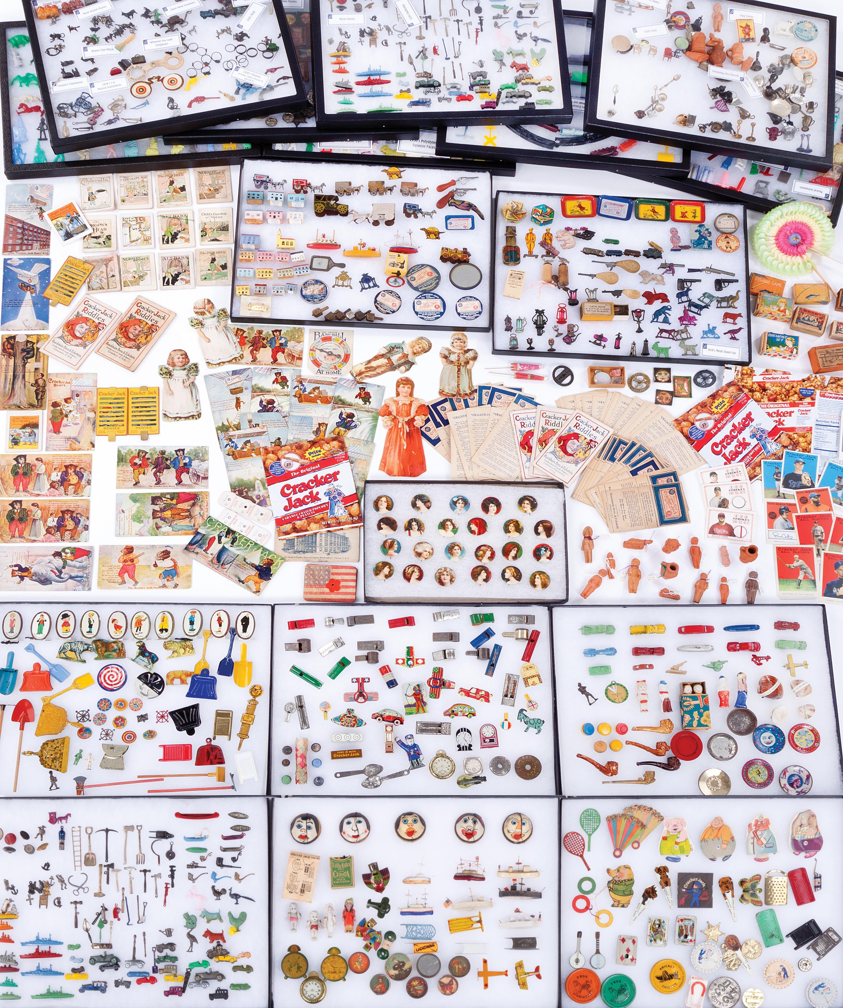 Coolest cracker jack prizes images