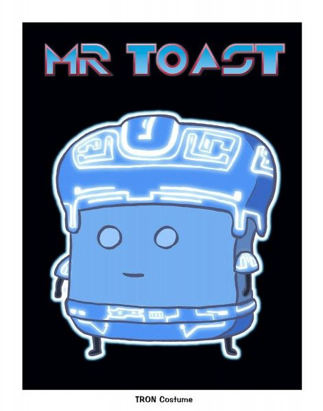 """Mr. Toast Tron"" by Dan Goodsell"