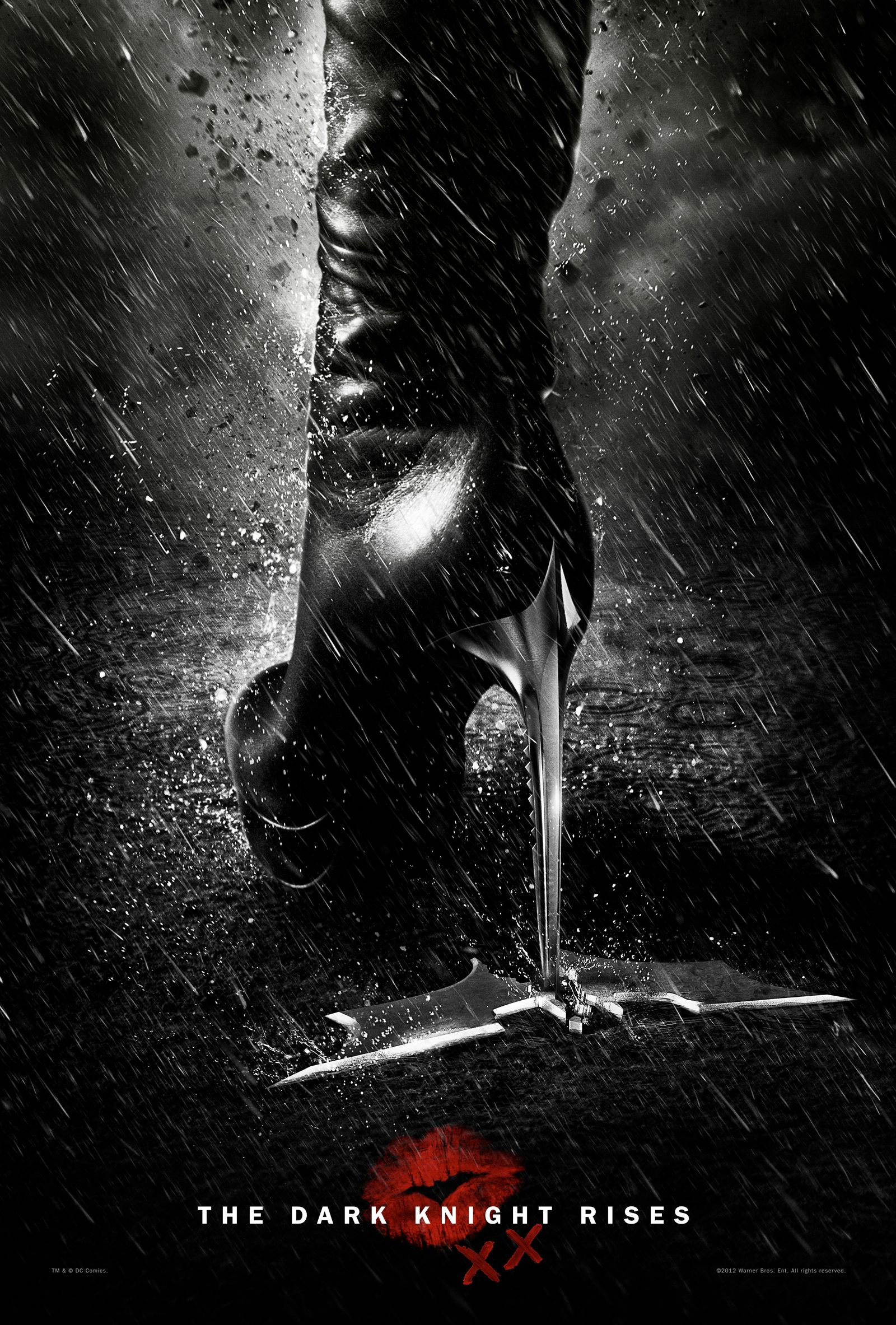 THE DARK KNIGHT RISES Secret Catwoman Poster | Collider Joseph Gordon Levitt Nightwing