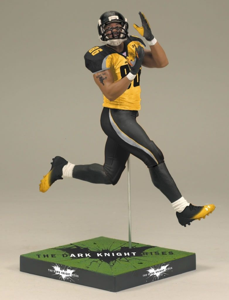 the dark knight rises hines ward toy action figure collider dark knight rises hines ward action figure toys