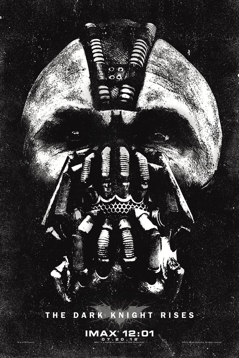 THE DARK KNIGHT RISES IMAX Poster | Collider