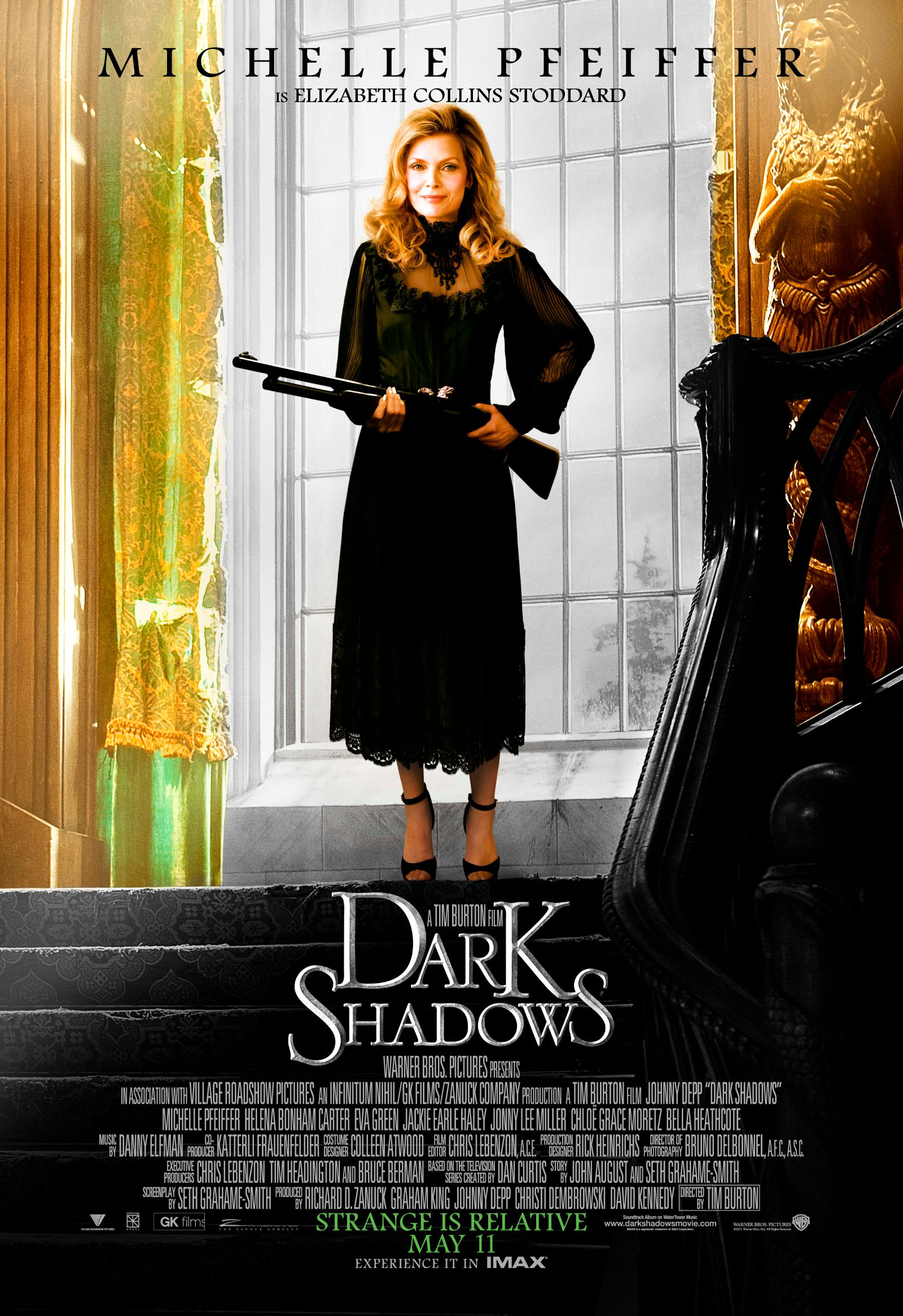 DARK SHADOWS Character Poster Banners | Collider