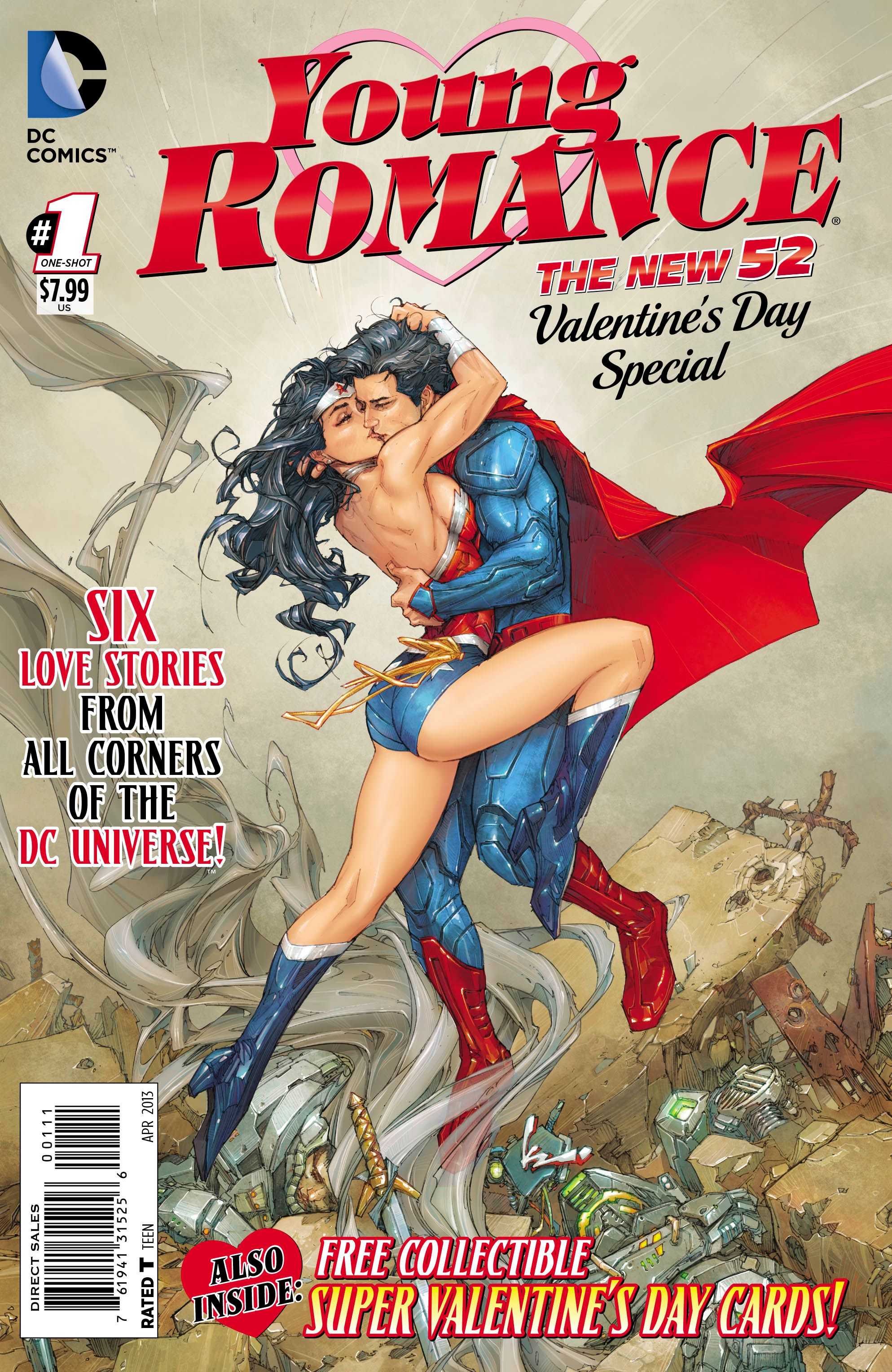 Image result for dc comics valentines day comic