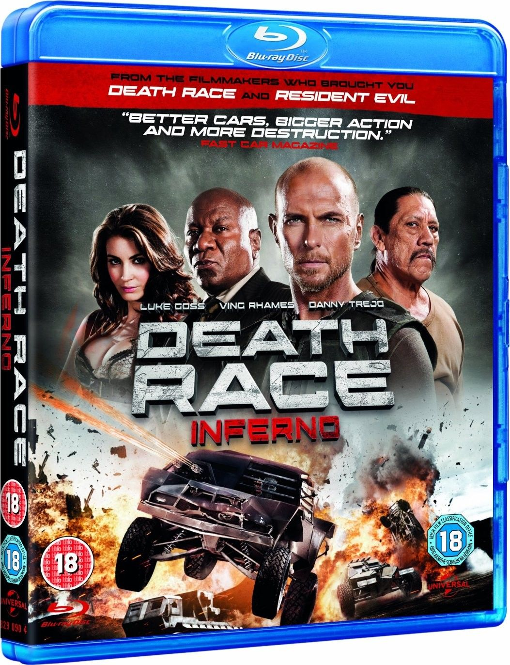 DEATH RACE 3: INFERNO Blu-ray Review | Collider
