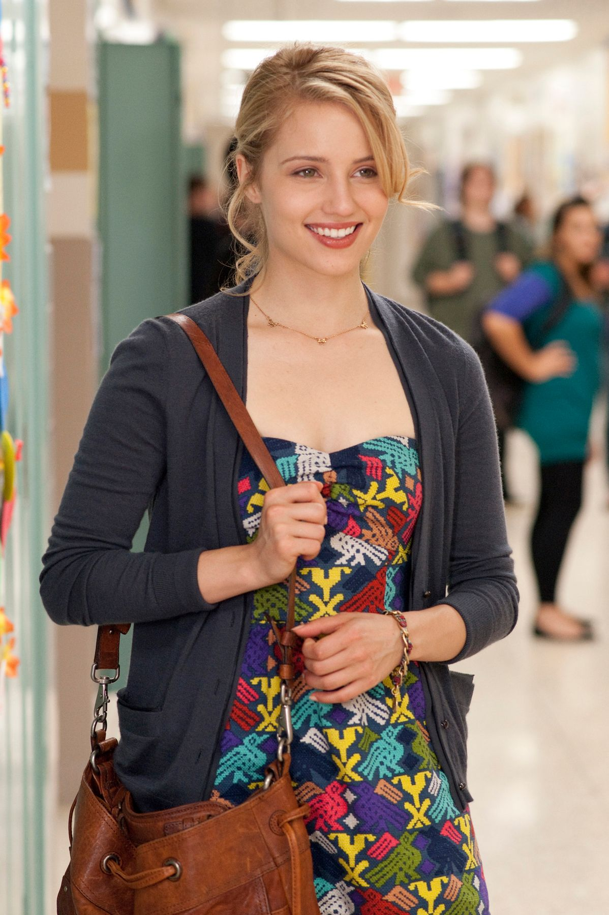 Dianna Agron Interview I AM NUMBER FOUR and GLEE | Collider