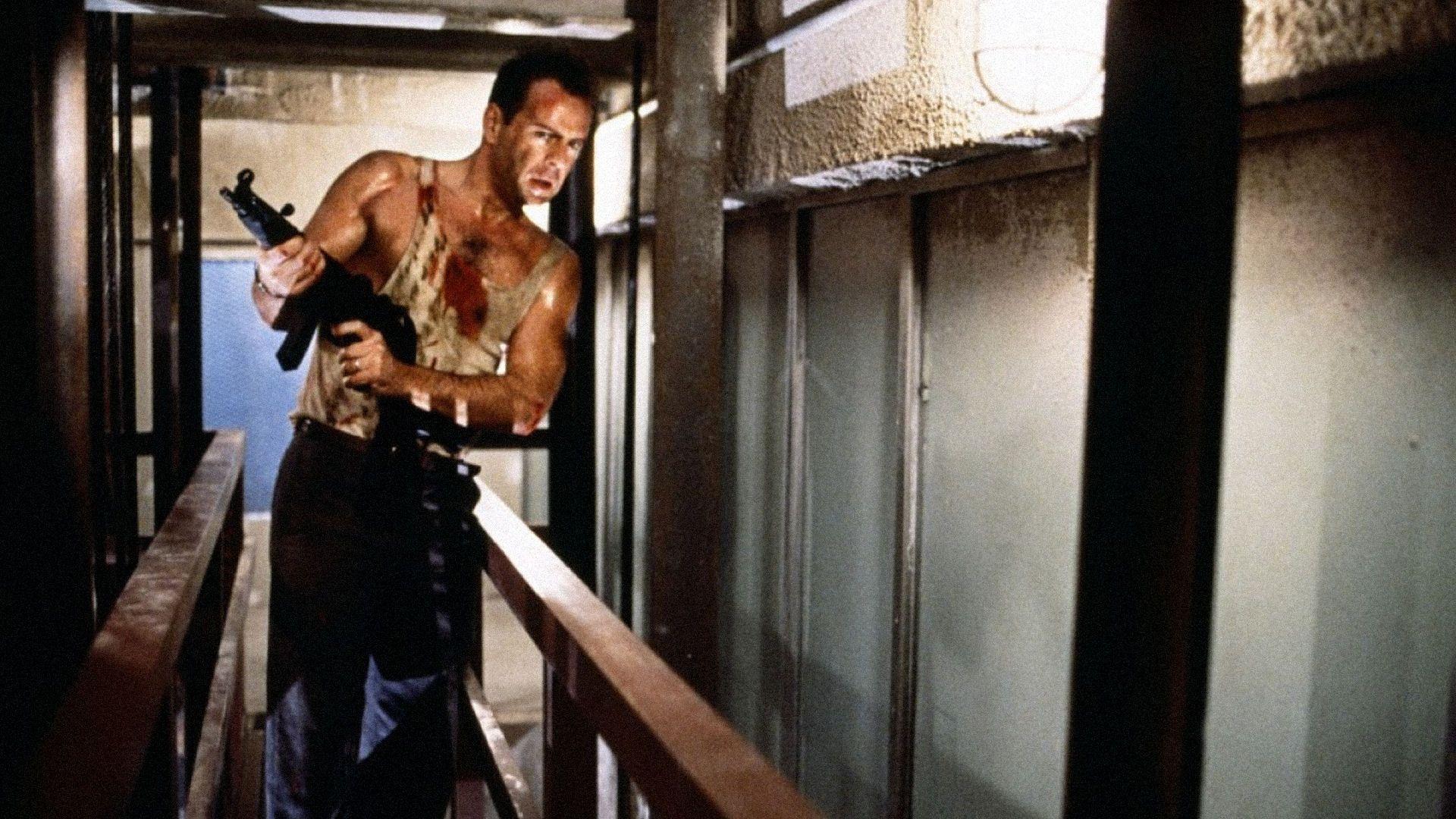 DIE HARD Review. DIE HARD Stars Bruce Willis, Reginald ... Bruce Willis Tower