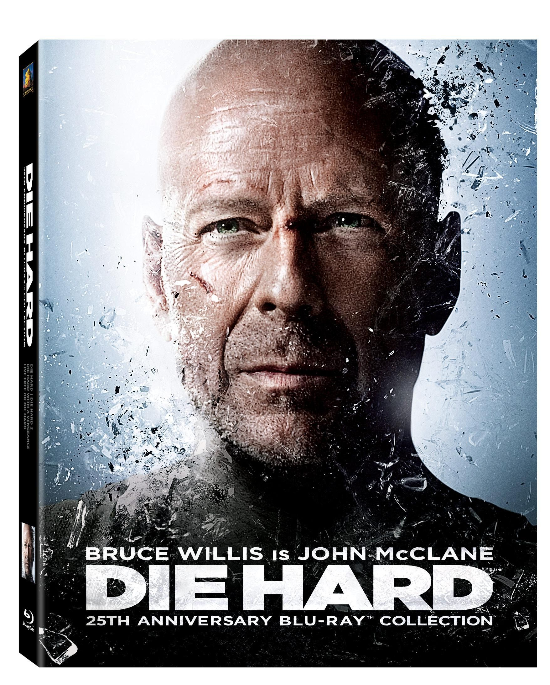 die hard 25th anniversary blu ray collection giveaway collider. Black Bedroom Furniture Sets. Home Design Ideas