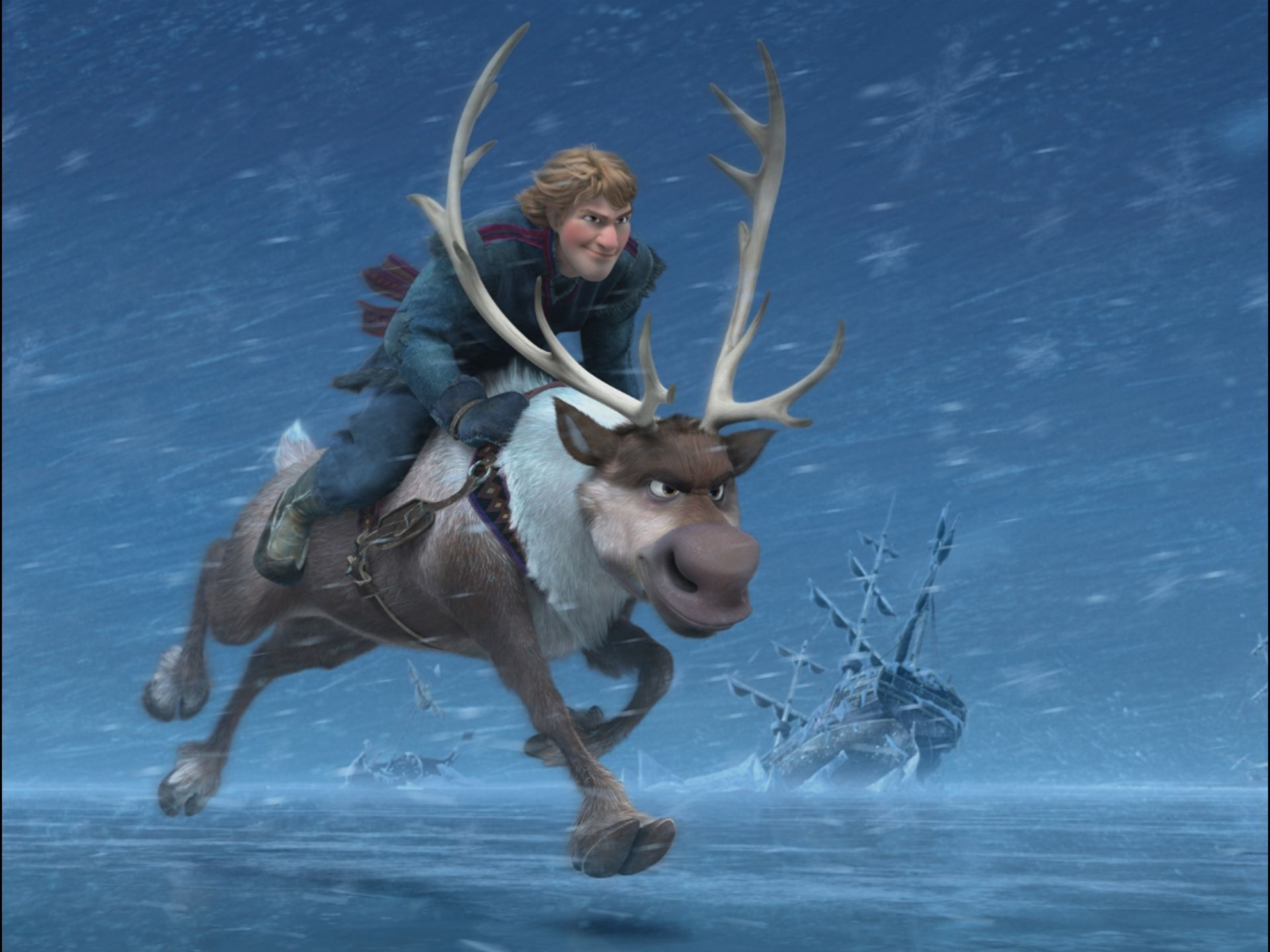 Disney's FROZEN Images. FROZEN Features The Voices Of Kristen Bell, Jonathan Groff, And Idina
