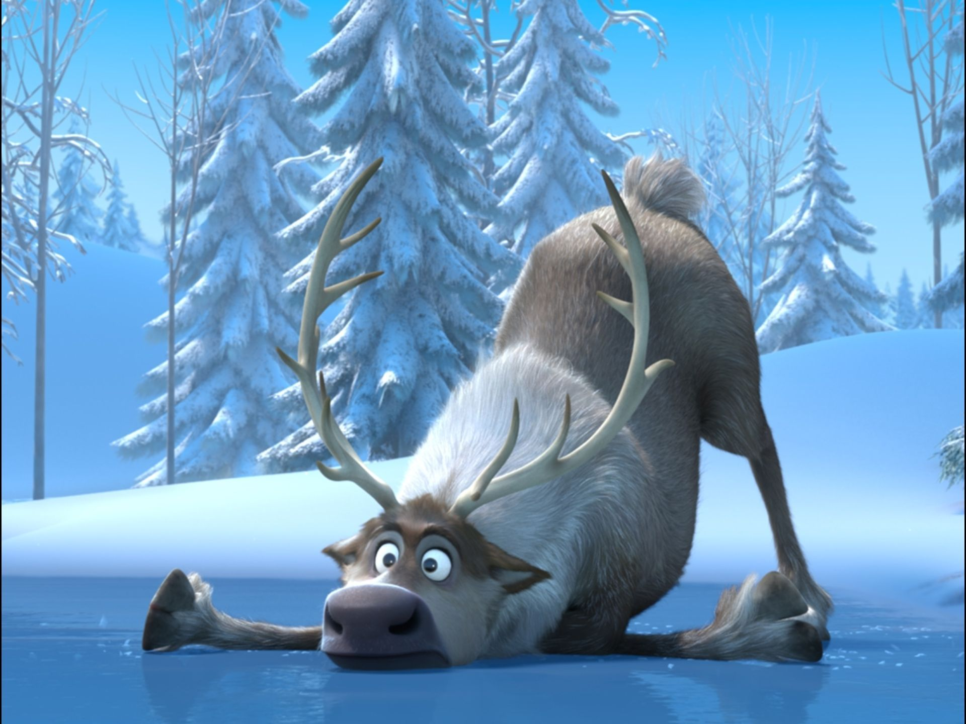 Disney's FROZEN Images. FROZEN Features the Voices of ... Disney Frozen Sven Wallpaper