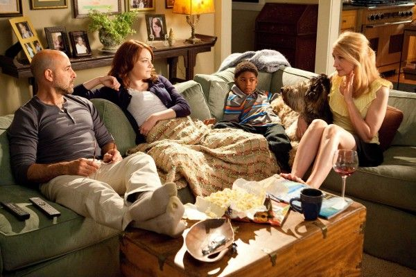 Easy A image Stanley Tucci, Emma Stone, Patricia Clarkson