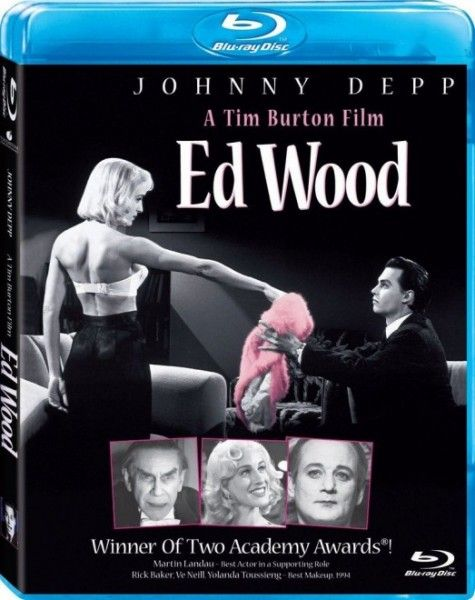 ed wood blu ray cover