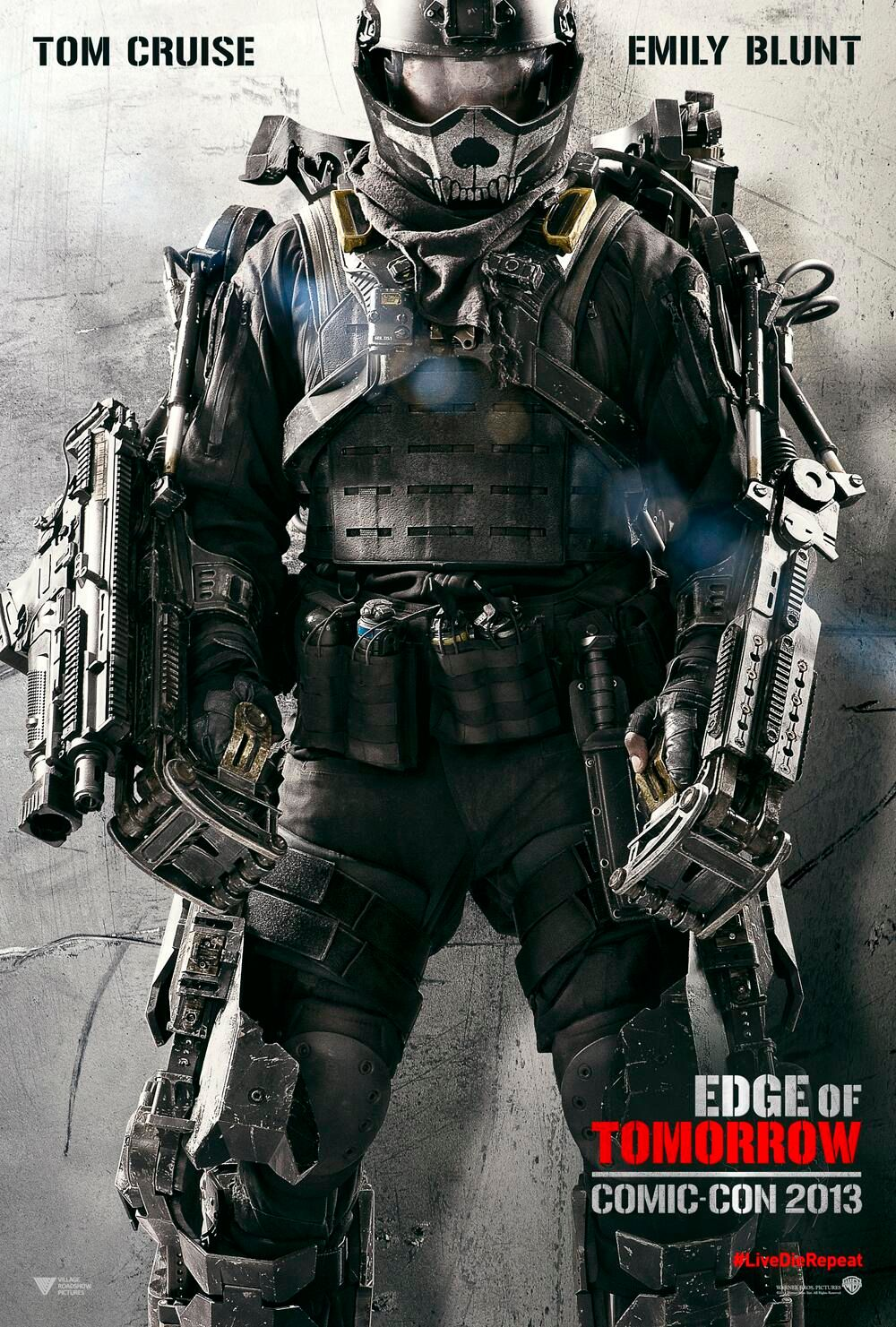 Tomorrow With A Smile Knock Off: EDGE OF TOMORROW And THE WORLD'S END Comic-Con Posters