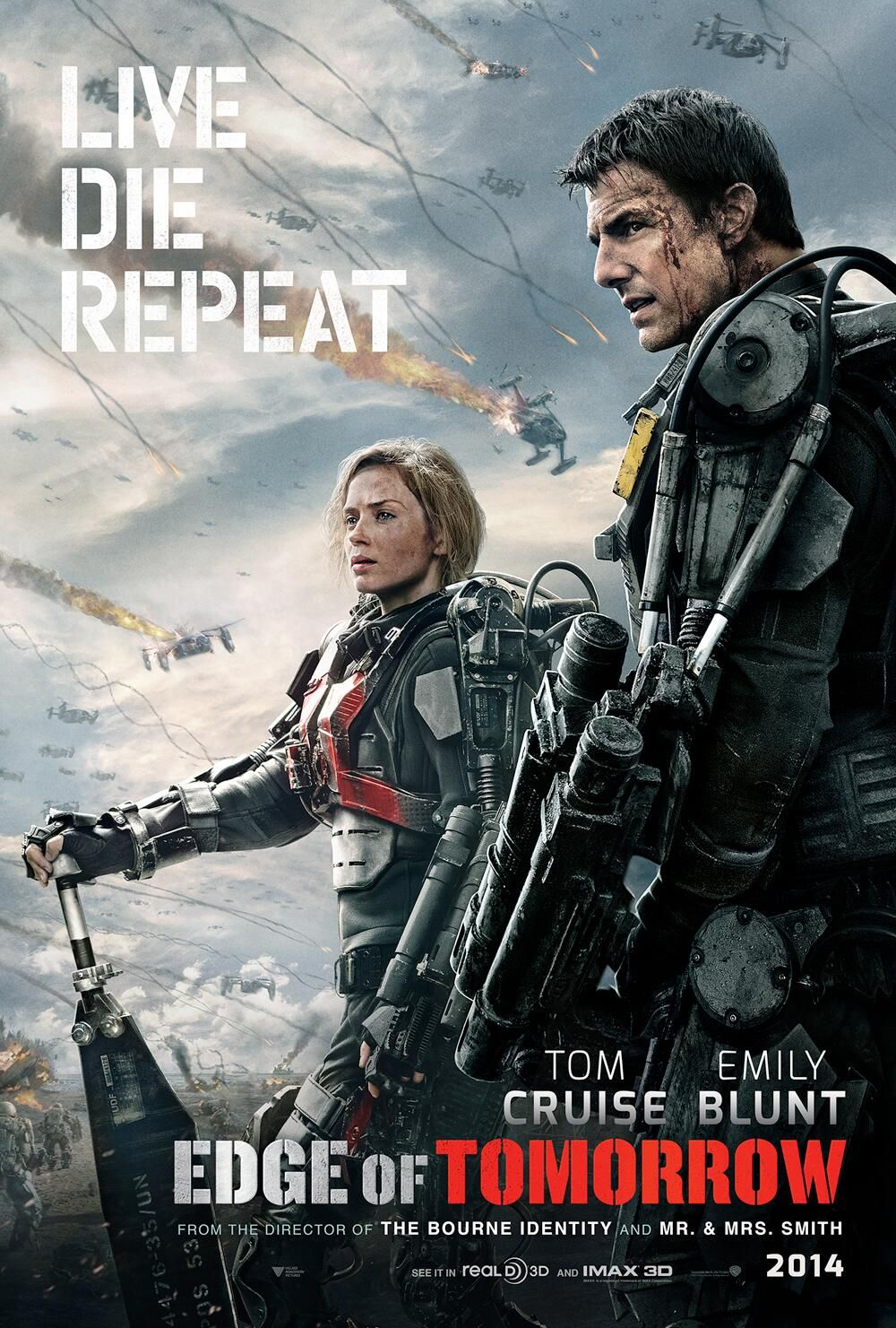 Emily Blunt Edge Of Tomorrow Poster edge-of-tomorrow-poster