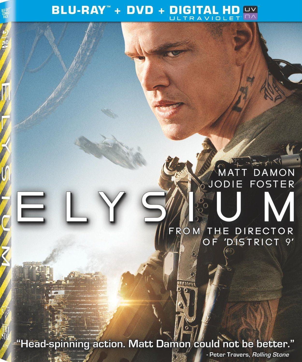 a review of the film elysium by neil blomkamp Neil blomkamp collection: district 9 / elysium / chappie blu-ray review no review exists for this particular release, however, it exists for the other following editions/regions/countries.