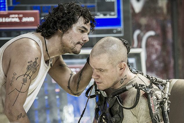 ELYSIUM Movie Images. ELYSIUM Stars Matt Damon, Jodie ...