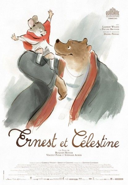 ernest and celestine poster