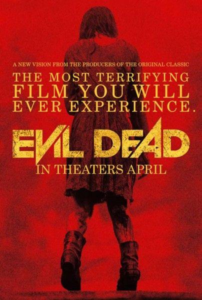 evil dead poster red