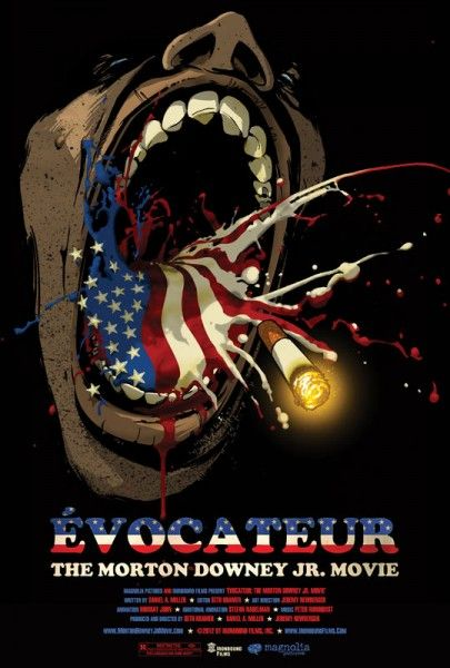 evocateur morton downey jr movie poster