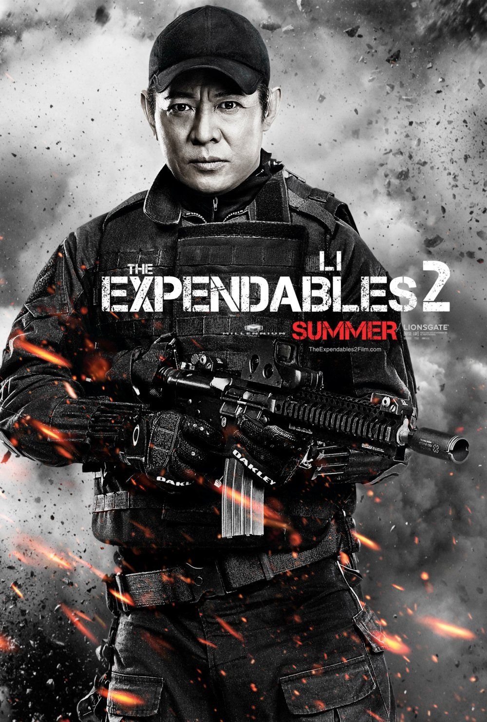 THE EXPENDABLES 2 Movie Poster Bruce Willis | Collider