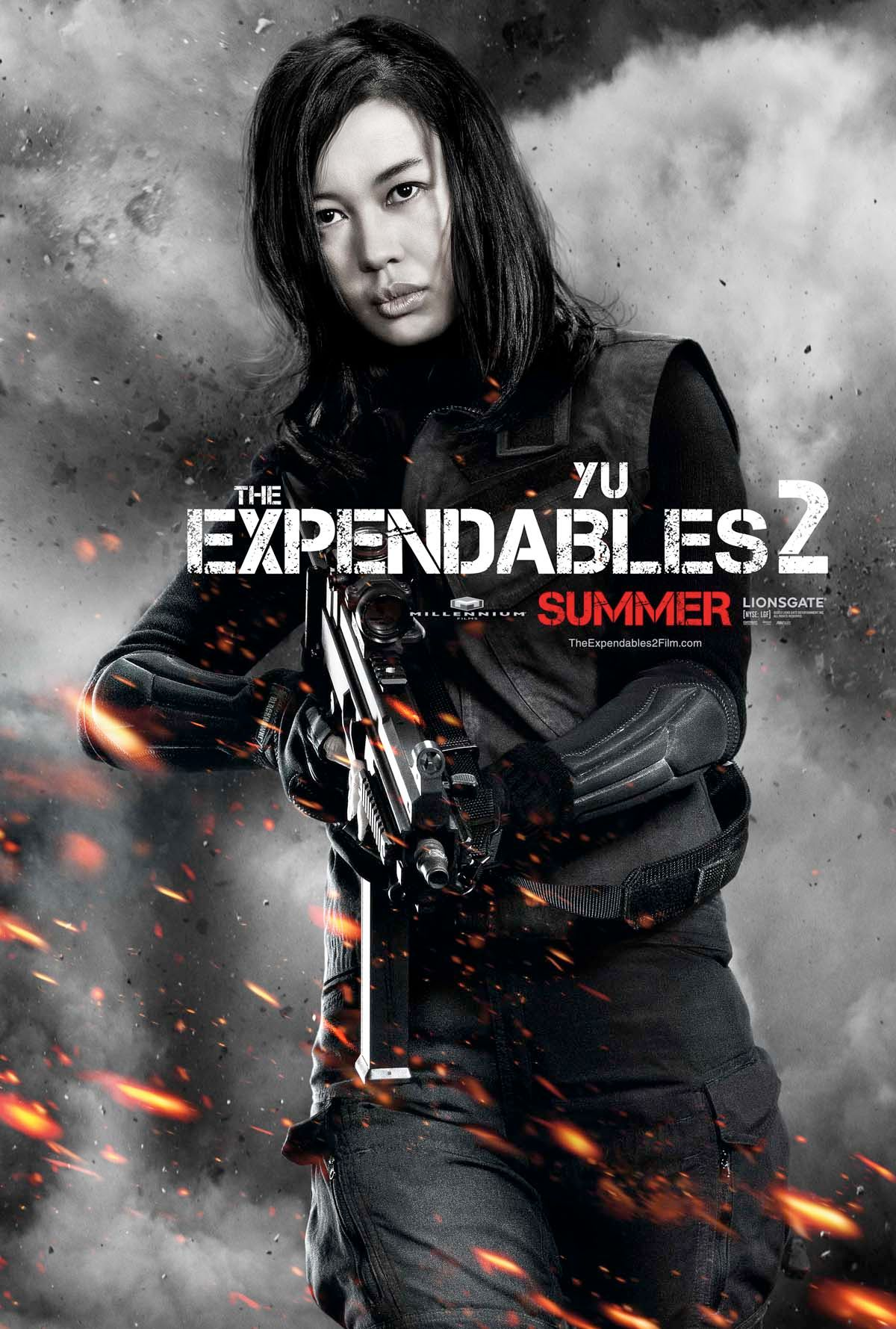 Expendables Movie Poster Yu