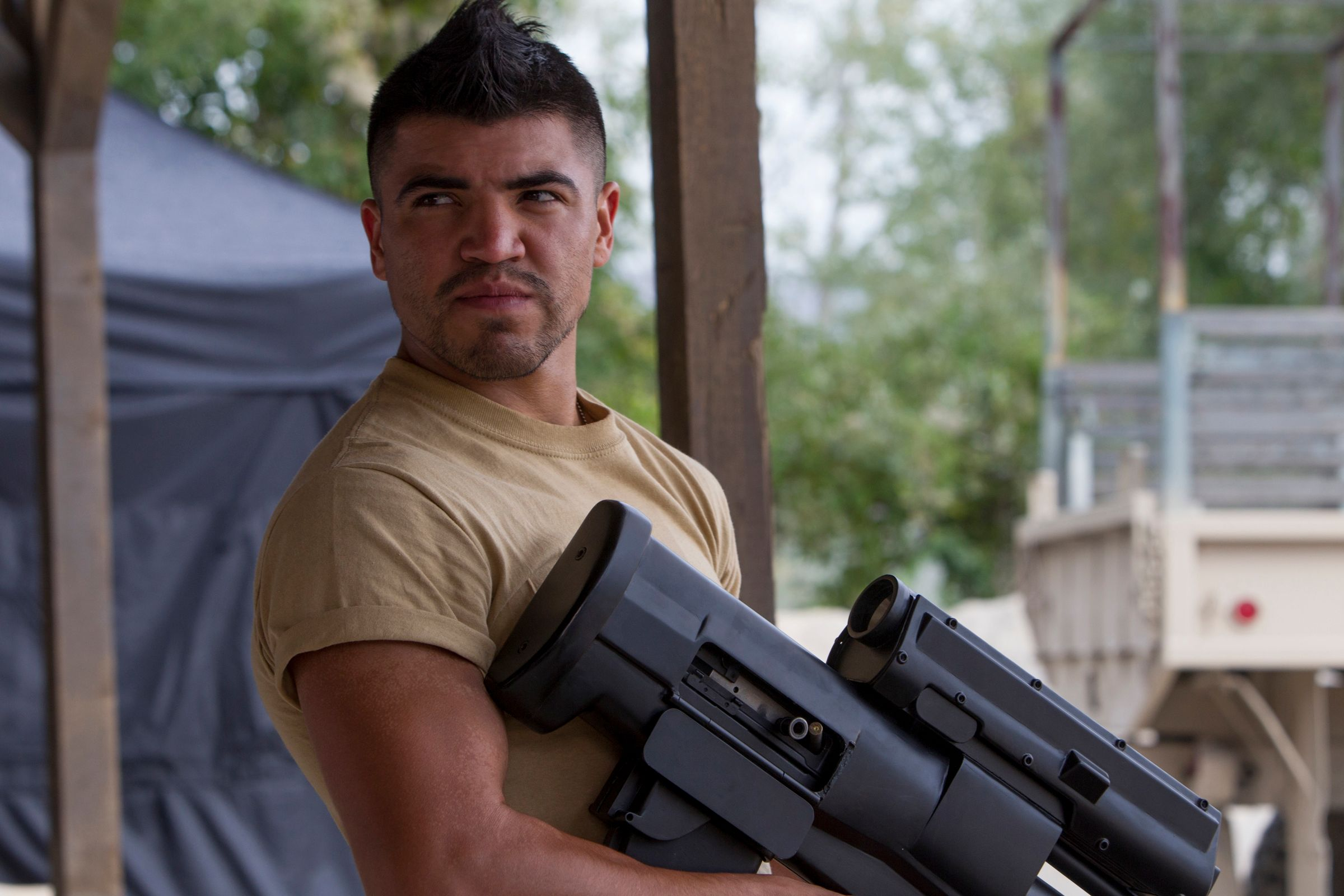 the expendables 3 interview: victor ortiz | collider