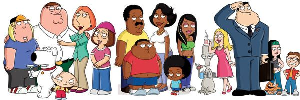 dad family guy American
