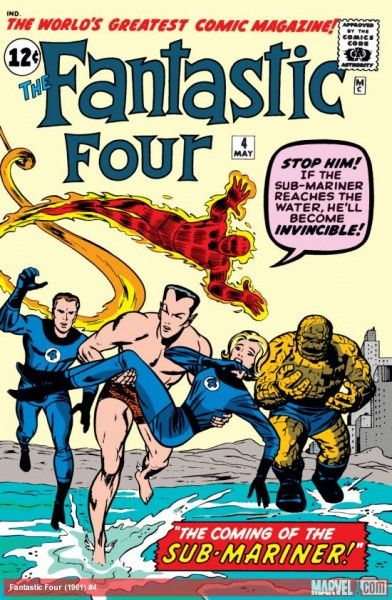 fantastic four issue 4