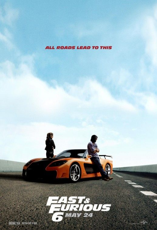 FAST & FURIOUS 6 Posters. FAST & FURIOUS 6 Stars Dwayne ...