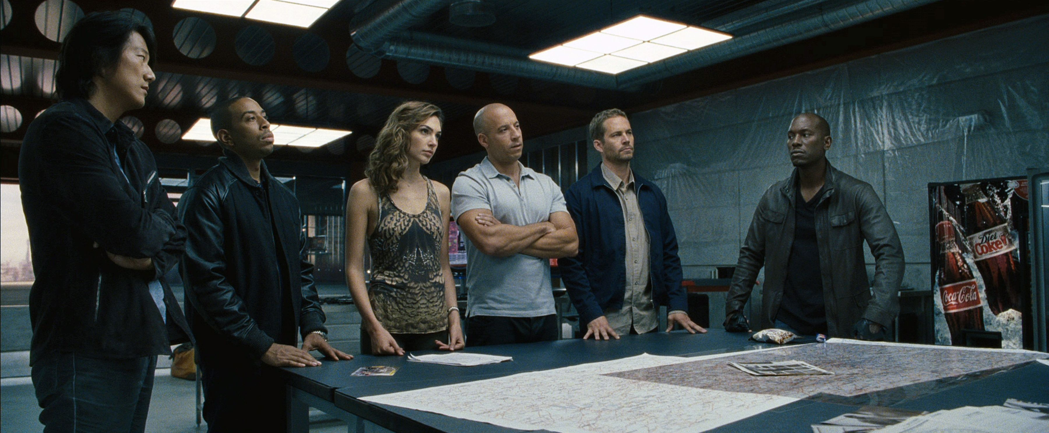 fast furious 6 images fast furious 6 stars vin diesel dwayne johnson and michelle. Black Bedroom Furniture Sets. Home Design Ideas