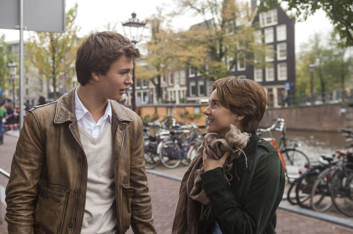 THE FAULT IN OUR STARS Behind-the-Scenes Footage with ...