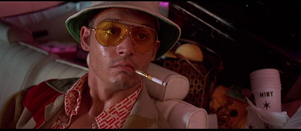 Fear and Loathing ends on a funny note  After Duke and Gonzo s trip to the  Old Psychiatrist s Club Gonzo decides to leave at dawn  late to the  airport