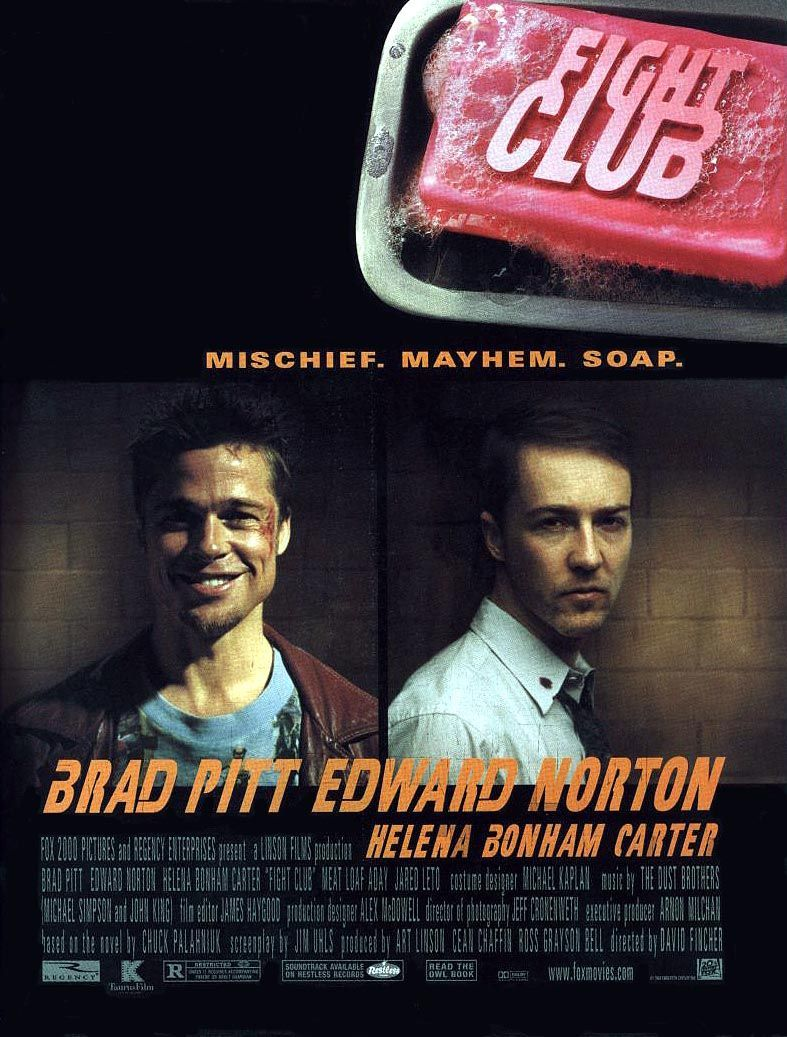 fight club review the films of david fincher collider fight club poster
