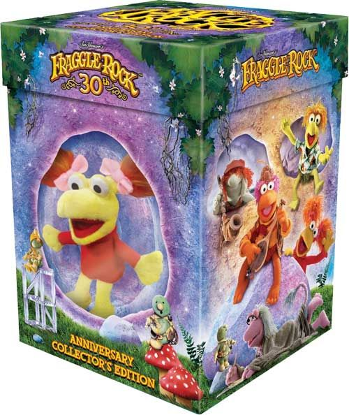 fraggle rock dvd box