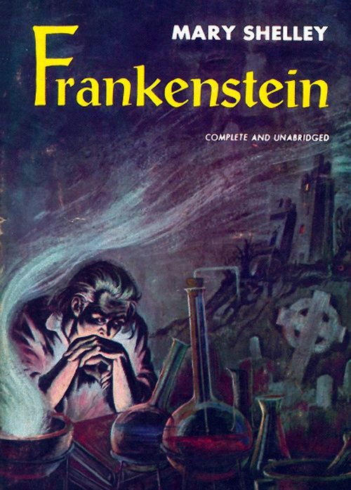 frankenstein written by mary shelley at age nineteen In the novel frankenstein, by mary shelley, victor frankenstein is retelling, to walton, how his life was heading downhill he explains that he is at the bottom.