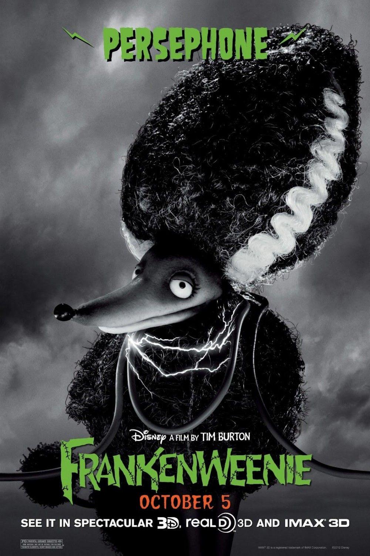 frankenweenie character posters collider