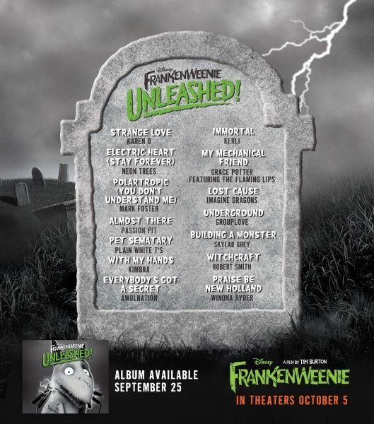 frankenweenie-soundtrack-listing