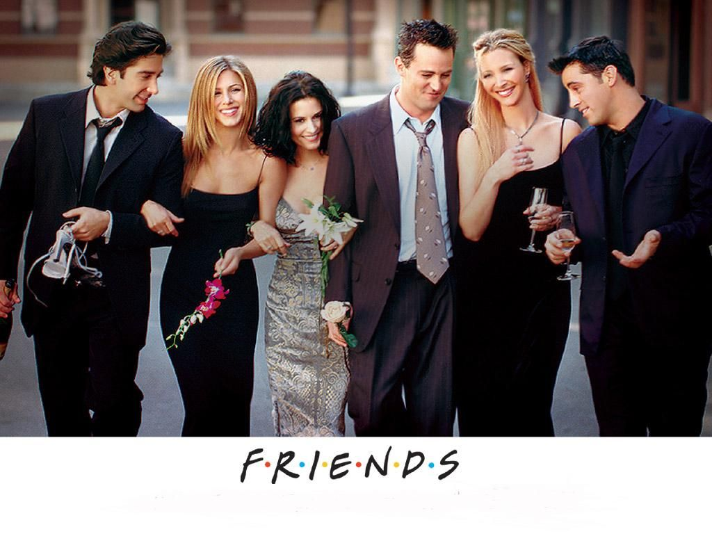 friends coming to blu ray for the first time this november in