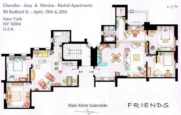 Check Out Floor Plans Of Tv Homes From Batman The